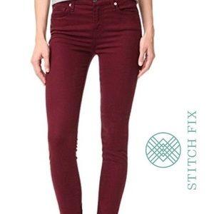 Lila Ryan Stitch Fix Sangria Skinny Jeans